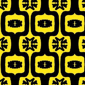 Black & Yellow Funky Folk 1