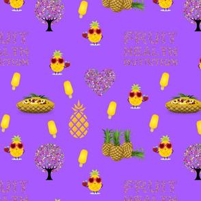 Fruity Health - purple, large