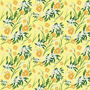 country Wildflowers Yellow