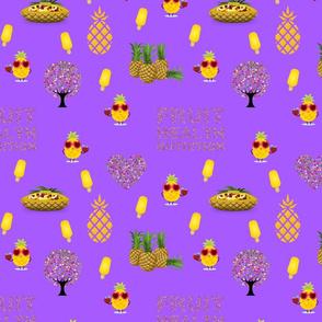 Fruity Health - purple, medium