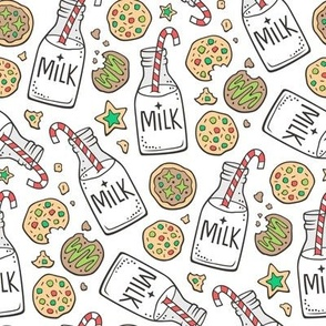 Christmas Milk & Cookies