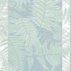 Dream ferns in neutral cool colours