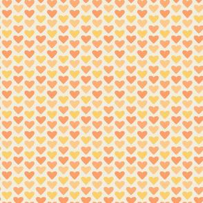 Peachy Hearts