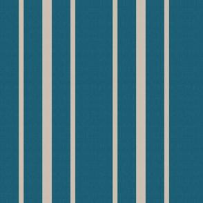 Lagoon and platinum stripe