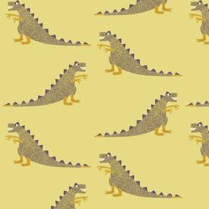 Happy dinosaurs