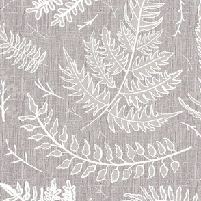Fern_airy_taupe woodland neutral