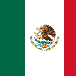 Mexico flag, FQ