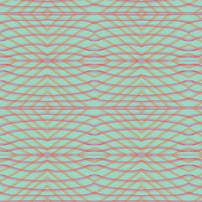 Striped Waves Mirrored