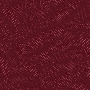 Neutral red bordeaux geometric pattern