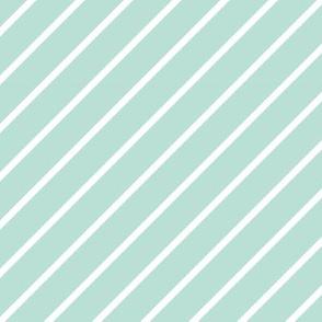 Mint-Stripe 6x6