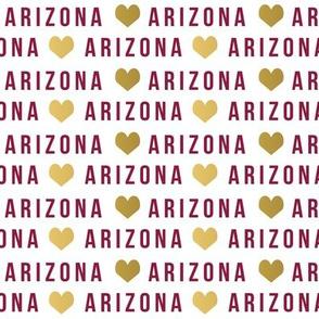 arizona - arizona college football, football, school, school spirit gold and maroon