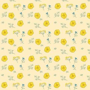 Buttercup Fields-- Gold