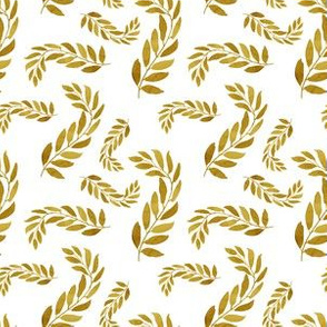 """6"""" Gold Leaves"""