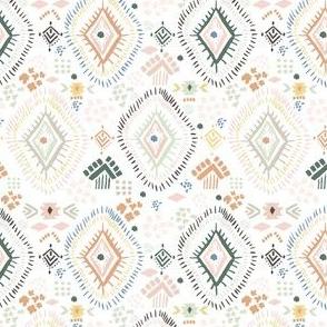 "4"" Modern Aztec Color Print"