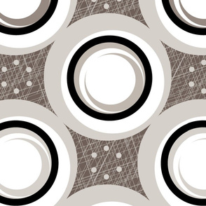 Hatch Dots (Neutral Warm Gray)