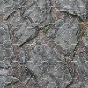 Tabletop game mat Mountain Rock