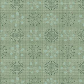 "Allium Allure,  Sage Green, 3"" Coordinate"