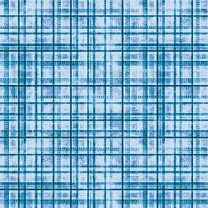 Stonewashed Plaid, Blue