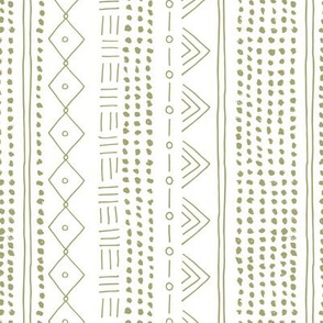 Minimal mudcloth bohemian mayan abstract indian summer love aztec design baby olive green vertical rotated