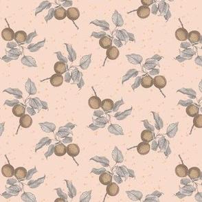 Blush peaches