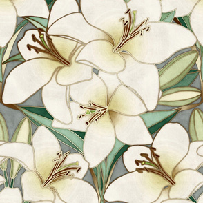 Gilding the Lilies - neutral forest shades