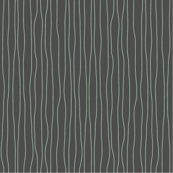Allium Allure,  Wavy Lines Coordinate, Sage Green on Charcoal Gray