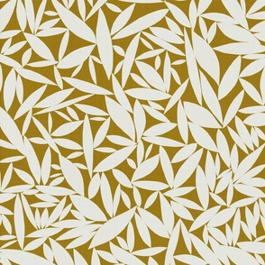Neutral Leaves Gold mix