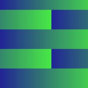 blue to green gradient brick