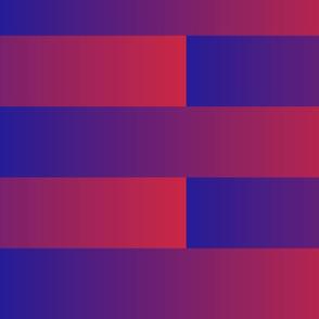 blue to pink gradient brick