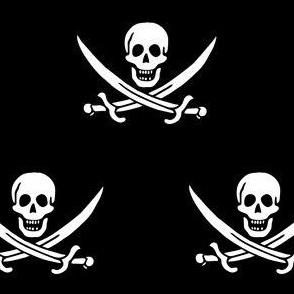 Jack Racham Jolly Roger Pirate Flag
