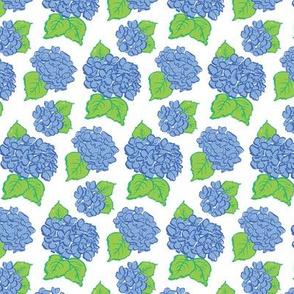 Blue Hydrangeas (small)