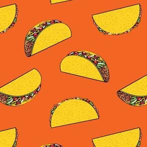 tacos on orange C19BS
