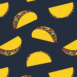 tacos on dark blue C19BS