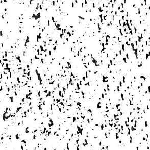 SouthWestern Mountains Speckles: White & Black  -medium scale