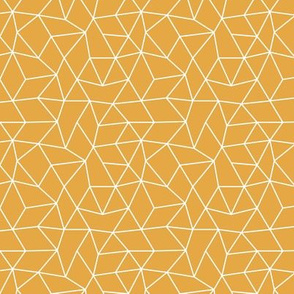 Abstract minimal geometric triangle raster basic neutral trend ochre yellow fall winter SMALL