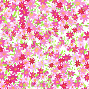 TINY PINK FLORAL REPEAT
