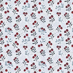 winter berries natbontoftdesign