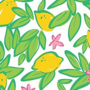 Summer Lemons & Blossoms