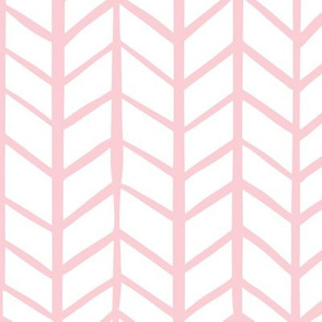 Blush Pink Herringbone