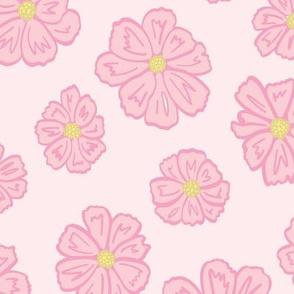 Blush Pink Cosmos