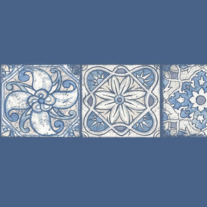 Shabby Cheater Quilt (blue) stripes03