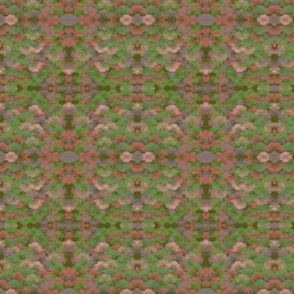 Flecken  grun rosa M021