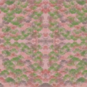Flecken  grun rosa M022