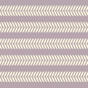 Neutral arrow lines - muted purple and cream