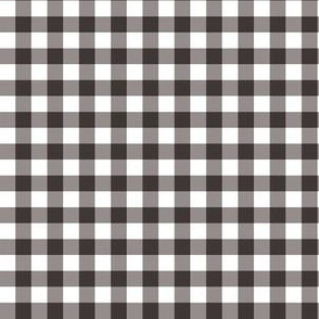 "6"" Brown Gingham"