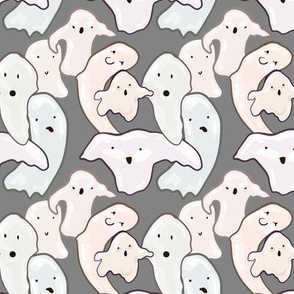 Globule Ghosties on Gray