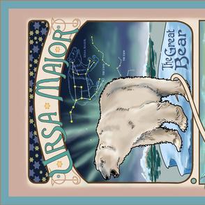 Ursa Major Constellation Tea Towel