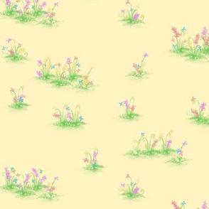 Blumenwiese, flower meadow M004