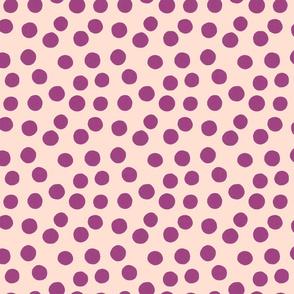 plum dots
