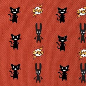 Cat & Bunny Noir